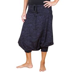 House of Lola Eastern pants - zebrano night