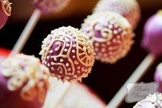 henna cake pops | Cute Cake Pops / Henna Style Cakepops