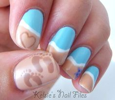 Beach Nails: http://beachblissliving.com/beach-nail-art/