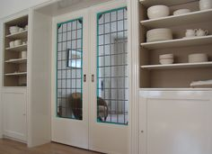 Tiny Office, Home And Living, Living Room, Compact Living, Pocket Doors, Sliding Doors, French Doors, Dining Area, Bathroom Medicine Cabinet
