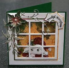Voorbeeldkaart - kerst - Categorie: Stansapparaten - Hobbyjournaal uw hobby…