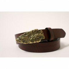 Arrowhead Belt Handmade from Cellar Leather