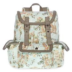 Olsenboye® Floral Backpack with Braided Trim  found at @JCPenney