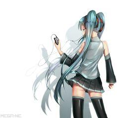 Anime Scenery, All Anime, Hatsune Miku, Manga Art, Anime Characters, Music, Gothic, Pictures, Musica
