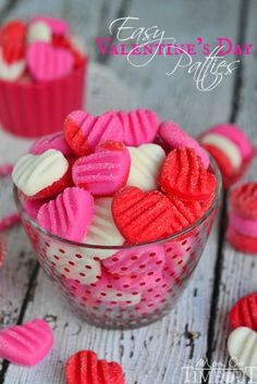 Celebrate the sweetness of Valentine's Day with these Easy Valentine's Day Patties - you choose the flavor! | MomOnTimeout.com | #recipe