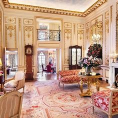 Joan Rivers Penthouse Back On The Market. It's a opulently decorated Manhattan apartment full of golden, glilded decor very fitting for hard working Joan Rivers! Manhattan Penthouse, New York Penthouse, Penthouse For Sale, Luxury Penthouse, Manhattan Apartment, Penthouse Apartment, York Apartment, Penthouse Suite, Apartment Ideas