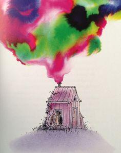 Illustratie: Annemarie van Haeringen..Boek 'De boze heks' door Hannah Kraan.