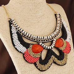 Chic Style Alloy Beads Necklace For Women