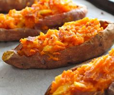 Try these amazing Hawaiian Stuffed Sweet Potato's for lunch or dinner