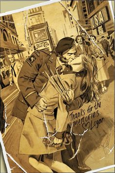 X-Men WWII Art