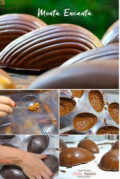 Como fazer Ovos de Páscoa ao leite e Crunch de uma maneira super prática sem bagunça na cozinha