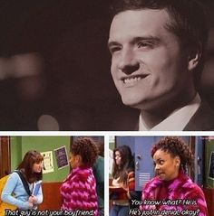 :)hahah I miss that show