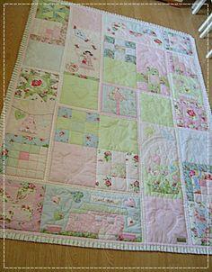 Môj ružový vesmír... (Slovak - lovely quilts!)