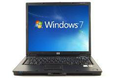 HP Laptop Notebook nc6320 - 40 gb hd - 1gig win 7 - dvd