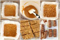 Sukkerfri snickers sjokolade - LINDASTUHAUG Tutti Frutti, Rocky Road, Fudge, Sugar Free, Waffles, Cereal, Muffins, Food And Drink, Snacks