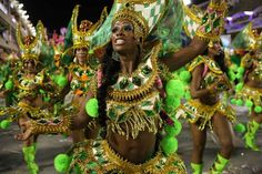 South America...The sizzling best of Brazil Carnival