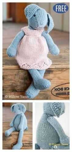 79de53f94d2 Amigurumi Bunny Rabbit Free Knitting Pattern