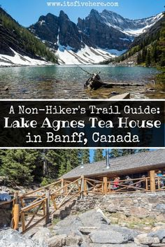 Space Guide Why should the Lake Agnes Tea House trail be on your list of hikes to do in Banff National Park, Canada? Here's a non-hiker's guide to this popular hike in Alberta, Canada. Hiking Guide, Trail Guide, Banff Canada, Alberta Canada, Lake Agnes Tea House, Alberta Travel, Canada Destinations, Visit Canada, Canada Travel