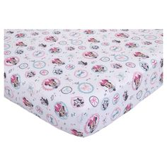 Disney© Fitted Crib Sheet - Minnie Mouse - All About the Bows