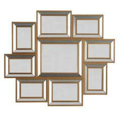 Cool arranged frames... no measuring / Stella Gallery Frame from Z Gallerie