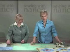 ▶ Easily cut quilting setting triangle blocks—on-pointwithout any math - YouTube