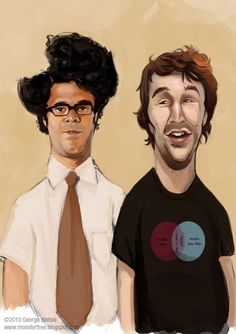 IT Crowd! Moss and Roy