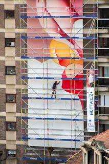 Bottazzi : Visual arts: Guillaume Bottazzi - Place Jourdan - In process