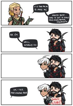 Property of Fenris by Fayolinn--- love his face!