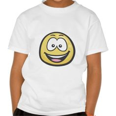 Emoji: Smiling Face With Open Mouth T-shirts