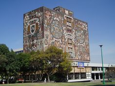 The Library Building, Mexico City University