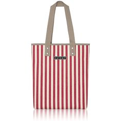 nother Vertical Stripe Tote Bag (Red)