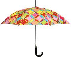 HOU-DY Digital Print Nylon Women Trendy Umbrella # Multi Color # Polyester # Printed