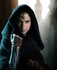 "Gal Gadot as Wonder Woman ♥. First official shot of the ""Wonder Woman"" movie :3"