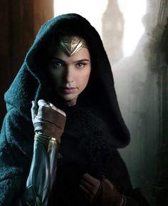 "Gal Gadot as Wonder Woman ♥. First official shot of the ""Wonder Woman"" movie :3"