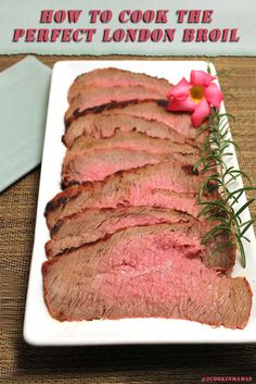 London Broil main 1 | 2CookinMamas  It's easy to grill the perfect flank steak. Turn it into London Broil, fajitas or even philly cheesesteak sandwiches.