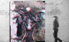 Exposición virtual / Título: Arnal I (serie Tributes) / Medida original: 224 x 300 cm / Resolución: 120 p.p. / Formato de imagen: JPEG / Color estándar: CMYK / Peso digital: 186 Mb
