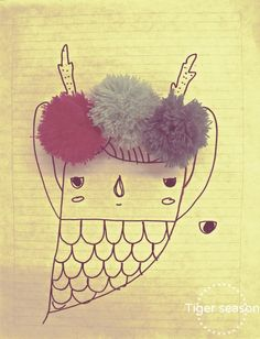 Cute drawing by Karla Máximo <3
