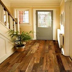 Exotic Walnut Natural Handscraped Flooring by Brand Floors