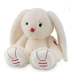 """Kaloo Rouge RABBIT Ivory Whtie 12/""""//30cm MEDIUM soft plush toy NEW"""