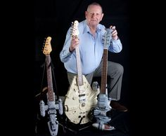MUSIC fan Tom Bingham does a brilliant Han Solo — on his collection of Star Wars-themed guitars | Via: The Sun (#starwars)