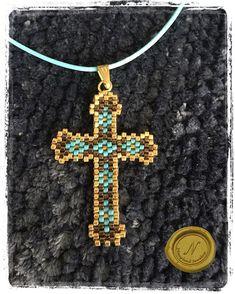 #pendant #handmade #handmadejewelry #handmadeaccessories #handmadependant #beads #delicas #miyuki #handbeaded #beadedjewelry #beadedaccessories #beadedpendant #cross #jewelry #bijoux #fashionaccessories #giftsforher #jewelryforwomen #pendantoftheday #gold #turquoise #bronze #jewelrymaking #jewelryaddict #beadedjewelryofinstagram #instajewelry #jewelrygram #beadedjewelryinfluencer #follow4follow #nanylandjewelry