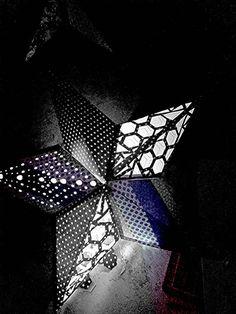 Items similar to Bohemian Decor Star Lantern; Black and White; Mood Lighting on Etsy Boho Lighting, Event Lighting, Dorm Decorations, Wedding Decorations, Paper Star Lanterns, Punk Wedding, Wedding Lanterns, Living Room Accents, Paper Stars