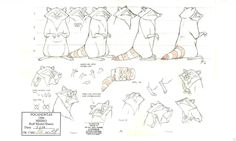 Miko Model Sheets & Storyboards