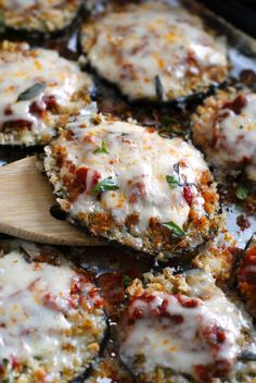 Sheet Pan Eggplant Parmesan | The Two Bite Club: Sheet Pan Eggplant Parmesan