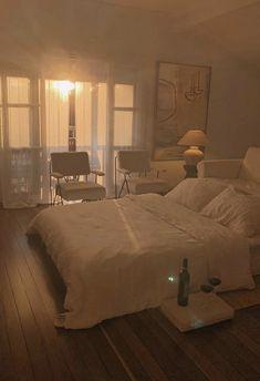 Home Interior Warm .Home Interior Warm Dream Rooms, Dream Bedroom, Room Ideas Bedroom, Bedroom Decor, Comfy Bedroom, Bedroom Simple, Aesthetic Room Decor, Beige Aesthetic, Dream Apartment
