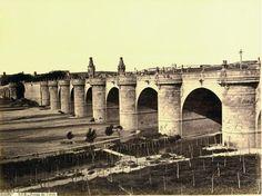 Puente de Toledo en la mitad del Siglo XIX (Pedro de Ribera)