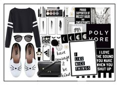 """The Best Of Black And White"" by angelstylee ❤ liked on Polyvore featuring By Lassen, Monsoon, Casetify, Graham & Brown, Karl Lagerfeld, Yves Saint Laurent, adidas, Kim Salmela, Marni and Marc Jacobs"