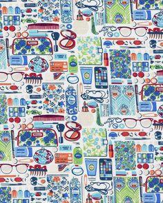 Forgetmenots D tana lawn fabric by theLibertyBazaar on Etsy