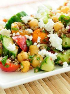 Λαχανικά Archives - Page 5 of 44 - www. Pasta Salad, Cobb Salad, Salad Dressing, Natural Health, Salads, Cooking Recipes, Vegetarian, Yummy Food, Diet