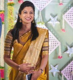 Cut Work Blouse, Indian Wear, Indian Attire, Indian Outfits, Saree Models, Saree Look, Elegant Saree, Indian Designer Wear, Saree Blouse Designs